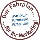 Der Fahrplan für Ihr Marketing :: Struktur | Strategie | Empathie
